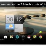 Acer najavljuje 7.9 inčni Iconia A1 tablet