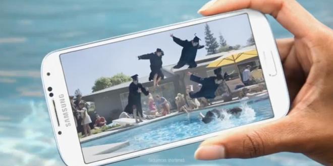 Samsung Galaxy S4 reklama