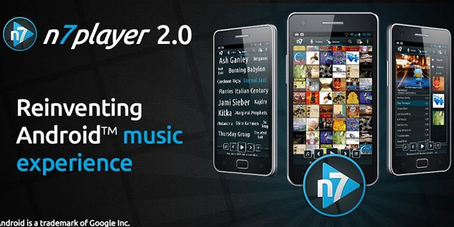 N7 Player with music player