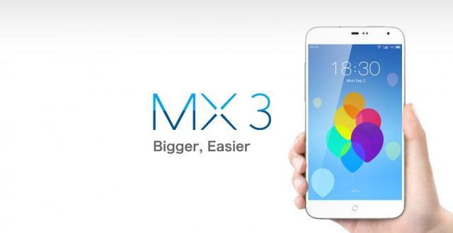 Meizu MX3 Android smartphone unboxing