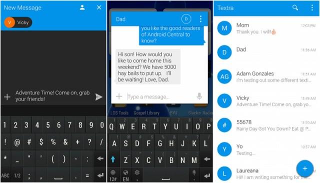 Top 5 zamjenskih Android aplikacija za slanje poruka