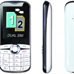 meanIT Twin Elegant dual sim mobilni telefon bijeli