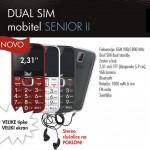 Meanit Dual SIM mobilni telefon Senior II