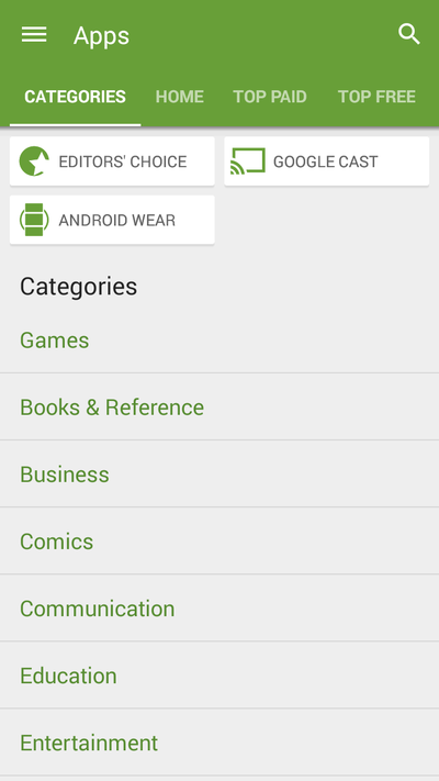 play-store-apps-categories