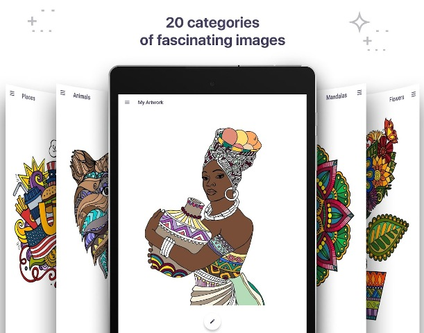 Coloring Book For Me Mandala Android Mobiteli Gadgeti Aplikacije