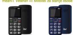meanIT Veteran III Mobitel za starije osobe