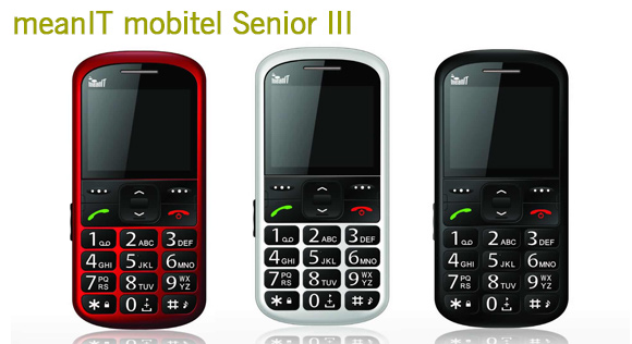 meanIT mobitel Senior III
