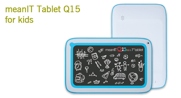 meanIT tablet Q15 for kids