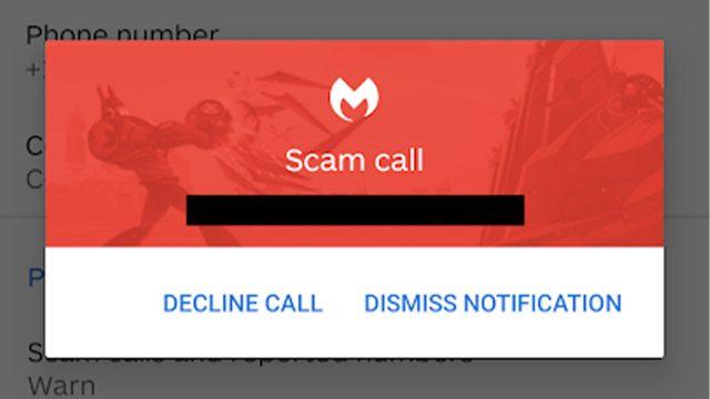 Malwarebytes Call Protection